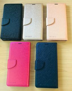 For LG Stylo 5 Phone Premium Leather Flip Wallet Case Pouch