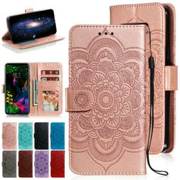 For LG Stylo 5 / Stylo6 / Stylo4 / V40 G8 ThinQ Leather Wall