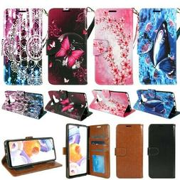 For LG Stylo 6 PU Leather Design Wallet Phone Case Cover Fli