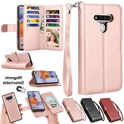 For LG Stylo 6 Flip Leather Wallet Case Magnetic Stand Cover