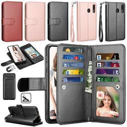 For LG V60 ThinQ 5G/LG G9 ThinQ Leather Wallet Case Magnetic