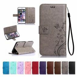 Luxury Magnetic Cover Stand Wallet Leather Case For Apple iP