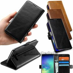 Luxury PU Leather Wallet Case Flip Holder Card Protective St