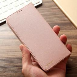Luxury Wallet Silk Leather Magnetic Flip Case Cover for iPho