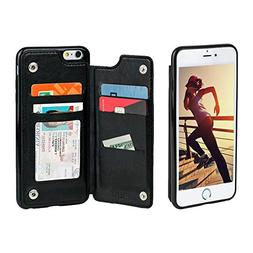 Gear Beast Lychee PU Leather Protective Top View Slim Wallet