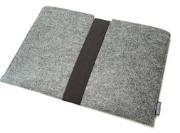 "MacBook Pro 15"" felt sleeve case wallet WITH STRAP, PERFECT"