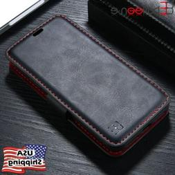 Magnetic Detachable Flip Leather Wallet Case Cover For iPhon