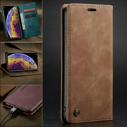 MAGNETIC FLIP COVER Leather Wallet Card Case For iPhone 12 1