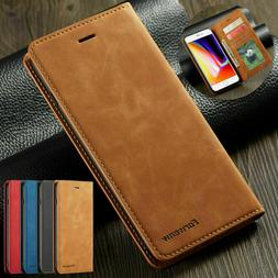 Magnetic Flip Leather Wallet Case Cover For iPhone 11 Pro Ma