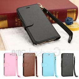 Magnetic Leather Flip Wallet Case Cover For Apple iPhone 6s