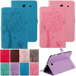 Magnetic Leather Stand Wallet Case Tablet For Samsung Galaxy