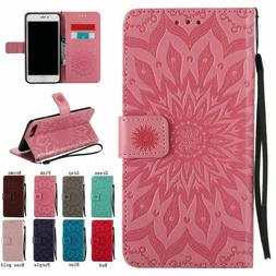 Magnetic Leather Wallet Case For iPhone 8 7 6S 11 12 Pro MAX