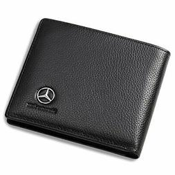 Mercedes Benz Genuine Leather Wallet With 3 Card Slots And I