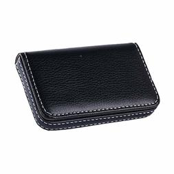 new black pocket pu leather business id