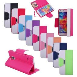 New Luxury PU Leather Wallet Card Flip Hand Chain Stand Case