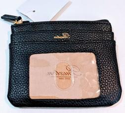 New Buxton Women's Large ID Coin Purse Card Case Leather Wal