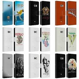 OFFICIAL QUEEN KEY ART LEATHER BOOK CASE FOR HTC PHONES 1