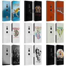 OFFICIAL QUEEN KEY ART LEATHER BOOK WALLET CASE FOR SONY PHO