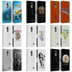 OFFICIAL QUEEN KEY ART LEATHER BOOK WALLET CASE FOR LG PHONE
