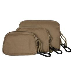 Fox Outdoor Products Padded Field Wallet-Case Set, Coyote