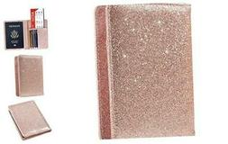 Passport Holder Cover, ACdream Leather RFID Blocking Wallet