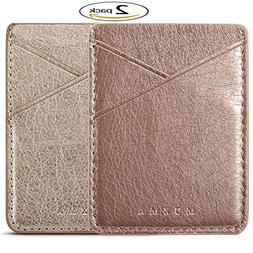 Phone Card Holder  Adhesive Stick-on  Credit Card Wallet Pho
