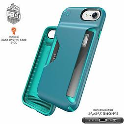 Speck Presidio Wallet iPhone 7 Cases Mineral Teal/Jewel Teal