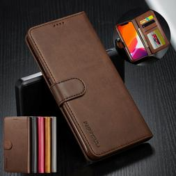 PU Leather Wallet Flip Phone Case Cover For Apple iPhone 11