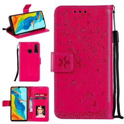 PU Leather Wallet phone Case for huawei nova C4