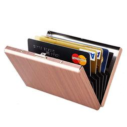 rfid credit card holder for women metal