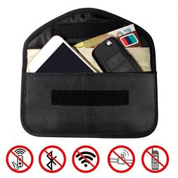 RFID Signal Blocking Bag Shielding Pouch Wallet Case for Cel