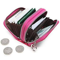 RFID Womens Card Holder Accordion Style Card Case Wallet wit