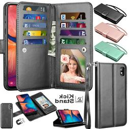 For Samsung Galaxy A10E A20 A30 A50 Card Leather Wallet Hold