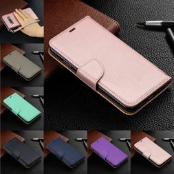 For Samsung Galaxy A50 A70 A30 A10 M30 Magnetic Leather Flip