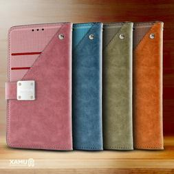 For Samsung Galaxy J7 Star Premium Front Pocket Wallet Case