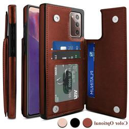 For Samsung Galaxy S21/Note 20 Ultra/S20 FE Case Leather Car
