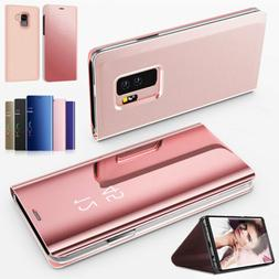 For Samsung Galaxy Note 4 5 8 9 Leather Magnetic Protector C