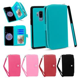 for Samsung Galaxy Note 8 S9 S9 Plus Case Detachable Leather