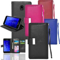 For Samsung Galaxy Note 9/8/S9/S8/Plus Flip Card Slot Wallet