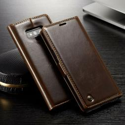 For Samsung Galaxy Note 9 Leather Wallet Case Magnetic Flip