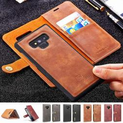 For Samsung Galaxy Note 9 S8 S9 Plus A8 Detachable Leather W