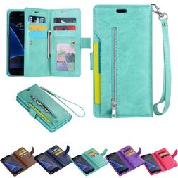 For Samsung Galaxy Note 9/S9/S8 Phone Case Cover Card Wallet