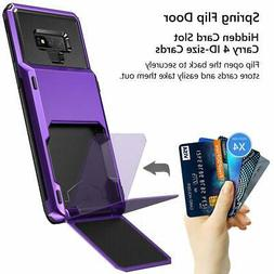 Samsung Galaxy Note 9 Wallet Case Durable Rugged Hard Cover