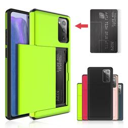 For Samsung Galaxy Note20, 20 Ultra 5G Slim Wallet Case With