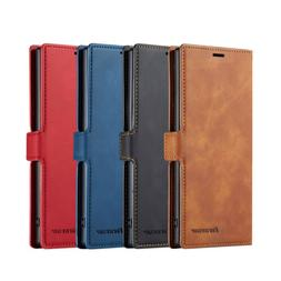 For Samsung Galaxy Note 10 Plus S10 Magnet Leather Wallet Ca