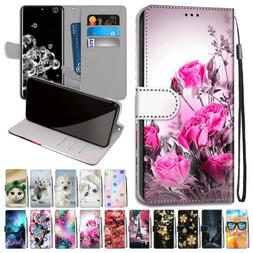 For Samsung Galaxy S20 Ultra/A01/A71/A91/S10 Lite Leather Fl