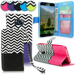 For Samsung Galaxy S7 Pu Leather Wallet Case Card Pouch Flip