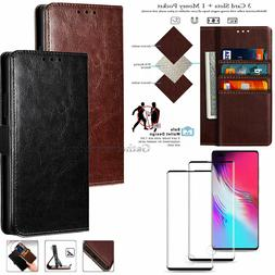 For Samsung GALAXY S8 / S9 Plus Note 9 Leather Flip Fold Wal