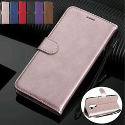 For Samsung Note 20 Ultra 10 9 8 S20+ S10 S9+ S8 Leather Wal