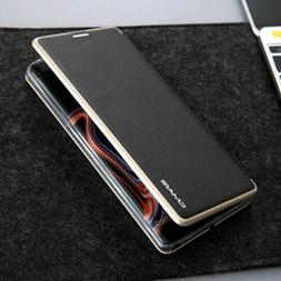 For Samsung Note9/S7 Edge/S8 Slim Leather Wallet Card Case M